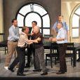 A partir du 8 octobre, Michel Leeb remonte sur scène dans  12 hommes en colère , au Théâtre de Paris.