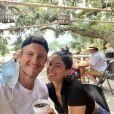 Alexander Ludwig et sa fiancée Lauren Dear. Septembre 2020.