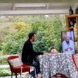 """Mercotte sur le tournage du """"Meilleur Pâtissier"""" avec Cyril Lignac - Instagram"""