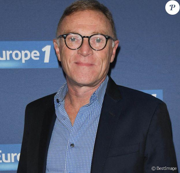Exclusif - Christophe Hondelatte - Conférence de rentrée de la radio Europe 1 à Paris, l'année dernière © Coadic Guirec/Bestimage