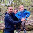 Tony Parker et ses deux fils, Liam et Josh. Octobre 2020.
