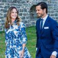 La princesse Sofia (Hellqvist), le prince Carl Philip - La famille royale de Suède se retrouve au palais Solliden pour le Victoria Day, l'anniversaire de la princesse Victoria de Suède à Borgholm, été 2020.
