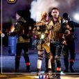 """Estelle Lefébure dans """"District Z"""", sur TF1 le 18 décembre 2020, avec Camille Combal, Kev Adams, Sandrine Quétier et Jarry au profit de l'association a2main."""