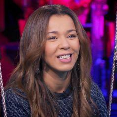 """Chimène Badi évoque son choix de ne pas avoir d'enfant dans le """"Jarry Show"""". Elle a beaucoup ému Jarry. Décembre 2020."""