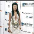 Missy Maples, tout sourire à l'ouverture du 13e Festival du Film Latino, à Los Angeles. 11/10/09