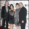 Edward James Olmos, Eva Longoria, Lluis Homar et Blanca Portillo à l'ouverture du 13e Festival du Film Latino, à Los Angeles. 11/10/09