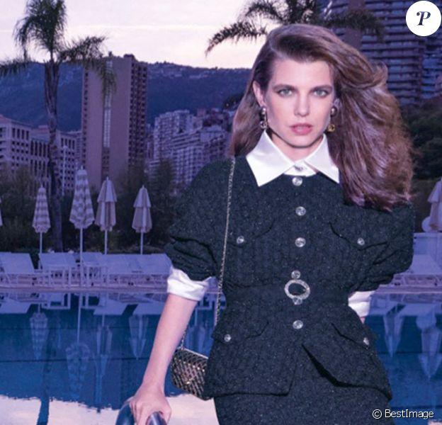La premiere campagne de Charlotte Casiraghi pour Chanel (campagne printemps-été 2021)