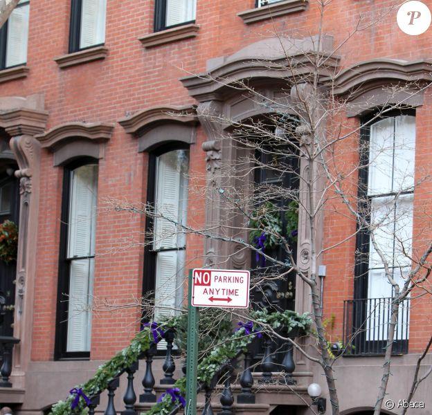 Une des maisons de Sarah Jessica Parker à West Village, New York