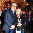 Exclusif - Sarah Jessica Parker et son mari Matthew Broderick quittent la premiere de 'The Inheritance' au théâtre Ethel Barrymore à New York, le 17 novembre 2019.