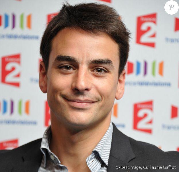 Julian Bugier - Conférence de presse de rentrée de la chaîne France 2 © Guillaume Gaffiot /Bestimage