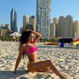 Julie Ricci en bikini, décembre 2020