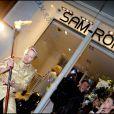 Les 32 ans de la marque de haute-fourrure Sam-Rone, au Sam-Rone's Space, à Paris, le 14 octobre 2009 !