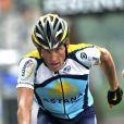 Lance Armstrong en pleine action !