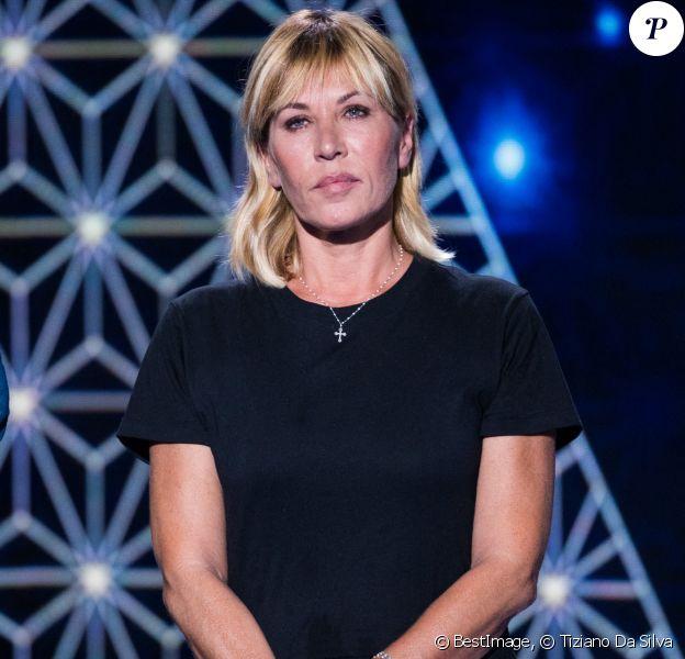 """Mathilde Seigner - Enregistrement de l'émission """"La boîte à Secrets 5"""" à Paris, sur France 3. © Tiziano Da Silva / Bestimage"""