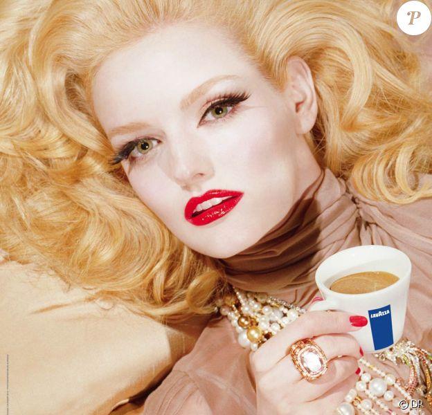 La couverture du calendrier Lavazza 2010 !