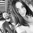 Ben Affleck et Ana de Armas en août 2020.