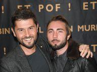"""Christophe Beaugrand heureux de présenter Roméo """"nouveau membre de la famille !"""""""