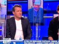 """Benjamin Castaldi sur sa relation avec son fils Simon : """"Ça a été plus compliqué pour lui"""""""