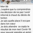 Ayem Nour annonce la mort de son oncle sur Instagram - 25 janvier 2021