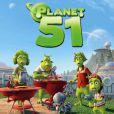 Des images du dessin-animé Planète 51