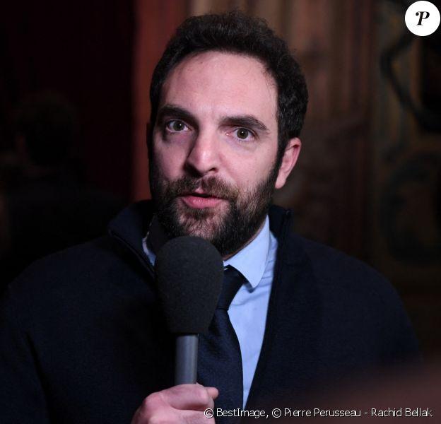 David Mora - Dîner de Gala du Festival Series Mania au Musée des Arts Forains à Paris. © Pierre Perusseau - Rachid Bellak / Bestimage