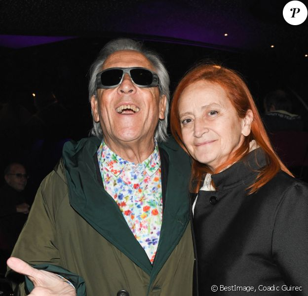 Exclusif - Gilbert Montagné et sa femme Nikole au concert de Dave à Bobino à Paris © Coadic Guirec/Bestimage