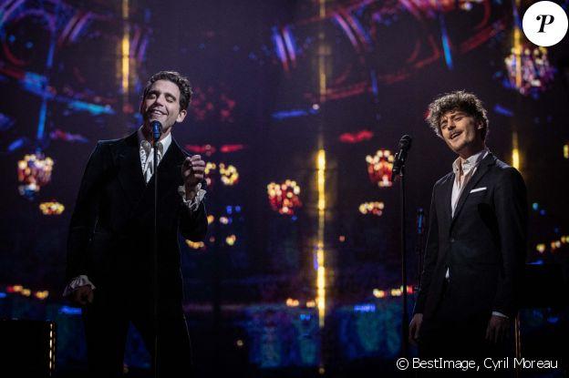 Exclusif - Mika en concert à l'Opéra Royal de Versailles, diffusé le 5 février sur France 5. Le 16 décembre 2020 © Cyril Moreau / Bestimage