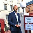 Le Premier ministre Edouard Philippe se rend dans un bureau de vote pour le deuxième tour des municipales 2020 au Havre le 28 juin 2020.