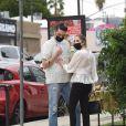 Exclusif - Ashley Benson et son compagnon G-Eazy se font une virée shopping à Los Angeles, Californie, Etats-Unis, le 2 février 2021.