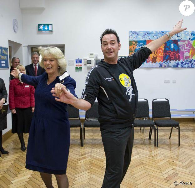 Camilla Parker Bowles et Revel Horwood à l'école St Clement Danes le 20 octobre 2009