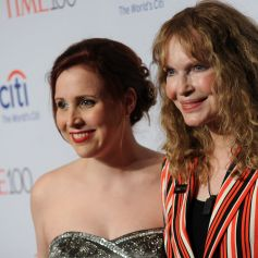 "Mia Farrow et sa fille Dylan Farrow au ""Time 100 Gala"" au Lincoln Center de New York. Le 26 avril 2016. @Dennis Van Tine/ABACAPRESS.COM"
