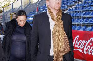 Boris Becker : sa femme, très enceinte, lui donne du courage...