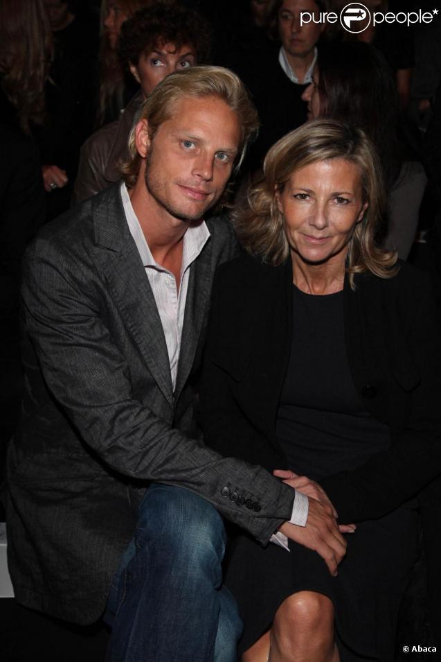Arnaud Lemaire et sa compagne, la présentatrice du JT de TF1, Claire Chazal