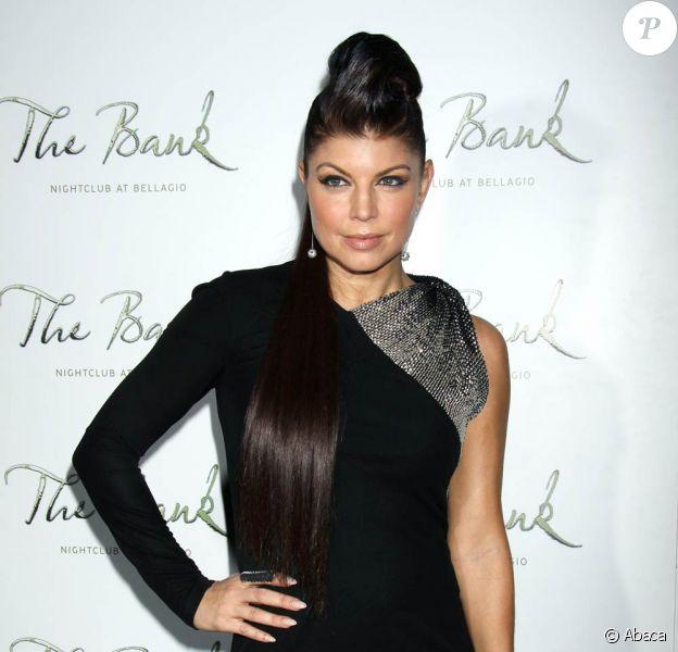 Fergie et les Black Eyed Peas, hier soir, à l'hôtel-casino Bellagio, à Las Vegas.