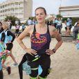 """Exclusif - Laure Manaudou organise et lance la 1ère édition de sa course, la """"Swimrun"""", à Arcachon. Le 23 juin 2019. © Patrick Bernard/Bestimage"""