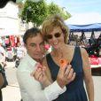 Fabien Lecoeuvre et Anne Richard au 27ème Salon du Livre de Cosne-Cours-sur-Loire, France, le 28 mai 2017. © JLPPA/Bestimage