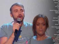 Les Enfoirés 2021 : Amel Bent en larmes, la chanteuse craque sur scène dans les bras de Christophe Willem