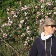Exclusif - Gwyneth Paltrow et son mari Brad Falchuk font une petite randonnée sous le soleil couchant de Los Angeles le 20 janvier 2021.