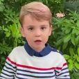 Prince Louis - David Attenborough répond aux questions de fans célèbres, dont le prince George, la princesse Charlotte et le prince Louis, au Royaume Uni, le 3 octobre 2020.