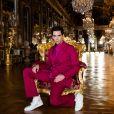 """Mika - Enregistrement de l'émission """"La grande soirée du 31 à Versailles"""", qui sera diffusée sur France 2. © Tiziano Da Silva - Cyril Moreau / Bestimage"""