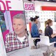"""Denis Brogniart révèle que son fils Dimitri a été positif à la Covid-19 - """"Clique"""", Canal +"""