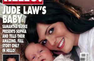 Jude Law fait le mort et ne semble pas pressé de voir sa fille... selon la maman Samantha Burke  !