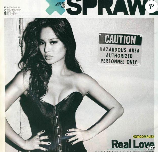 La belle Jamie Chung en couverture de Sprawl !