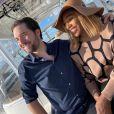 Serena Williams et son mari Alexis Ohanian en juin 2020.
