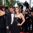 "Clotilde Courau (Robe Elie Saab) - Montée des marches du film ""A Hidden Life"" lors du 72ème Festival International du Film de Cannes. Le 19 mai 2019 © Borde / Bestimage"