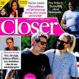 """Laeticia Hallyday et Jalil Lespert dans le magazine """"Closer"""", le 2 avril 2021."""