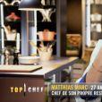 """Matthias dans """"Top Chef 2021"""" sur M6."""
