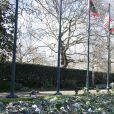 Les hommages au prince Philip dans les jardins de Marlborough House à Londres le 15 avril 2021.