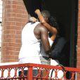 50 Cent et Kelly Rowland en plein tournage du clip Baby by me