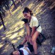 """Rose-Marie et Cinzia sur le tournage de """"Pékin Express 2021"""""""
